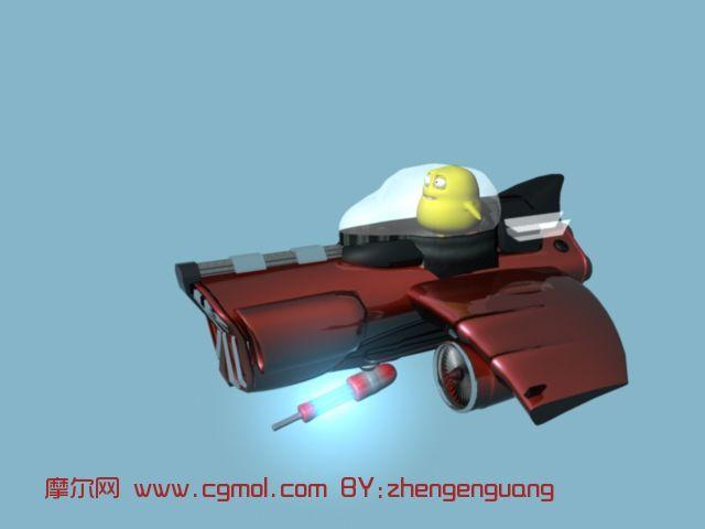 飞行器maya模型 飞机 运输模型高清图片