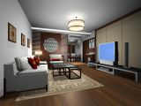 古典客厅max模型