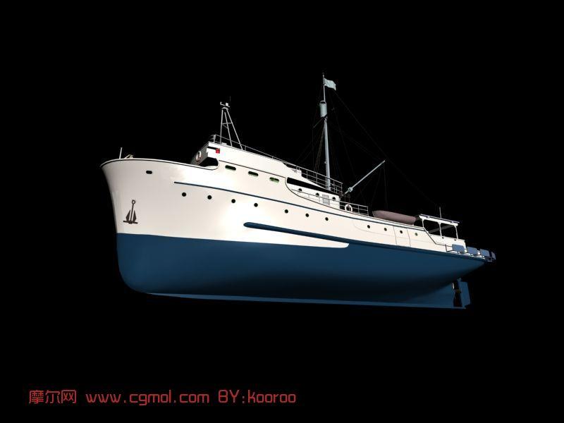 渔船max模型