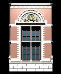 欧式窗套,窗户max模型