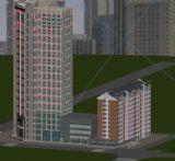 楼房,住宅,建筑max模型