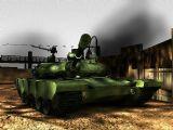 战场的硝烟,游戏场景,坦克max模型