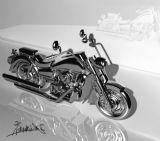 摩托车maya模型