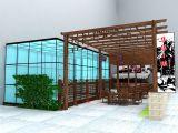 露天酒吧,休闲茶馆,酒店max模型