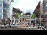 古建筑,商业街,室外场景max模型