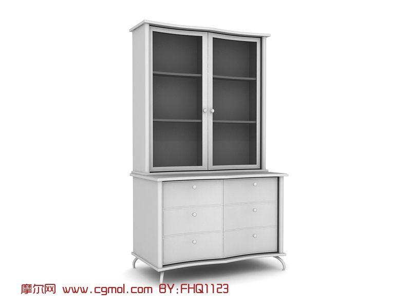 现代时尚家具,厨柜,柜子max模型