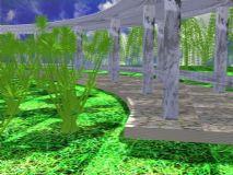 花架,建筑,室外场景max模型