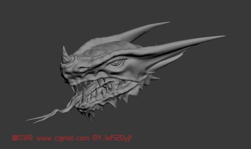 龙头,怪物max模型