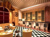 别墅酒吧间,酒店,酒吧,酒庄max模型