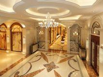 欧式经典大厅走廊,室内场景max模型