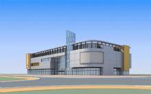 商业建筑,大厦,室外场景max模型