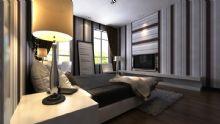 现代卧室,室内场景max模型