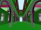 阿拉伯建筑,室内走廊max模型