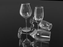 玻璃杯子maya模型