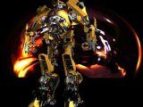 高模大黄蜂,变形金刚,机械角色max模型