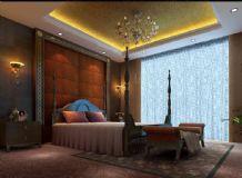 欧式卧室,室内场景,样板间max模型