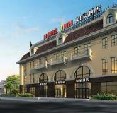如家酒店,大厦,楼房,室外场景max模型