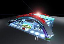 家电博览会展厅,室外场景max模型