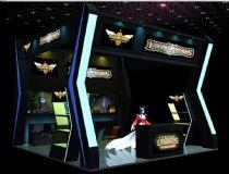 英雄联盟展厅,室内场景max模型