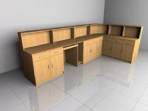 柜子,电脑桌,办公桌,储物柜,室内家具max模型