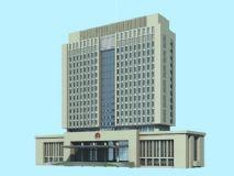 政府大楼,警察局,派出所,警署,办公楼,大厦,建筑max模型