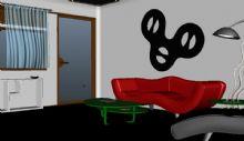 客厅,室内,卡通场景maya模型