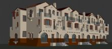联排别墅,房子,建筑max模型