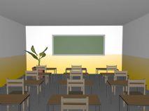 教室,室内场景C4D R13模型