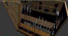 古代兵器,冷兵器,游戏道具max模型