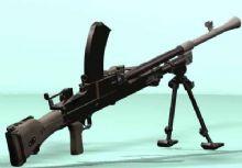 布伦机枪,轻机枪,机枪,轻武器max模型