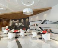 工装休息区,大厅,室内场景max模型
