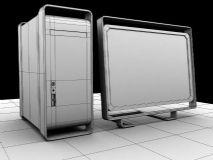 苹果电脑,家电maya模型