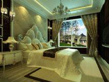 欧式古典卧室,室内场景max模型