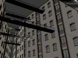 大楼,建筑,室外小场景max模型
