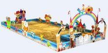儿童沙滩乐园,娱乐场所,室外场景max模型