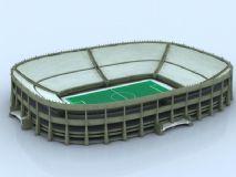 体育场,建筑,室外场景max模型