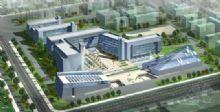 工业园小区之鸟瞰图,工业建筑,室外场景max模型