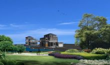 别墅,小区,房子,建筑,室外场景max模型