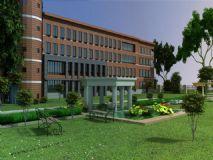 艺术楼,大楼,建筑,室外场景max模型