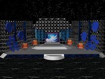舞美,舞台,室外场景max模型
