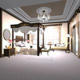 唯美欧式卧室,室内场景max模型