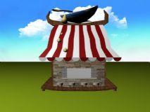 土豆店,店铺,商店,建筑,室外场景max模型