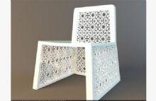 椅子,现代椅子,雕花,室内家具max模型