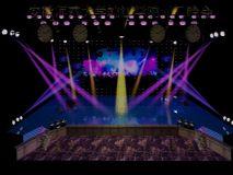 舞台,室外场景max模型