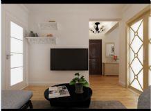 小户型客厅,现代场景max模型