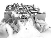 古代房屋,建筑,室外场景maya模型