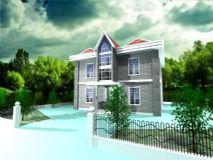 别墅,住宅,房子,建筑,室外场景max模型