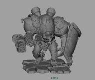 机器人,游戏角色maya模型