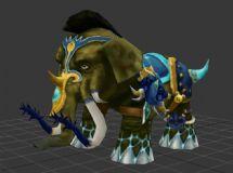大象,怪物,游戏角色max模型