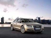 奥迪A8l ,汽车max模型